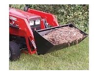 Lewis Compact Tractor Loader Bucket 4ft Wide