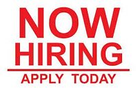 Immediate Exciting & Challenging Opportunity!