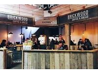 Part time bar staff needed for pop up venue in SW17