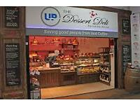 SALES ASSISTANT: DESSERT DELI CLAPHAM JUNCTION AND VAUXHALL STATION
