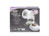 closer to nature electric breast pump new.