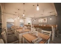 CDP in critically acclaimed central London restaurant- immediate start