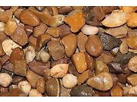 20mm Quartz Trent Valley River Gravel Decorative Aggregate Per Tonne