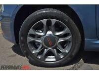 FIAT 500 SPORT ALLOY WHEEL AND TYRE