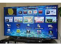 "Samsung 55"" LED 1080P, 3D, 800htz TV (UE55ES8000) with optional Soundbar"