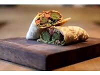 Part time wrap slinger / Barrista WANTED