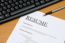 Professional resume writing $40 Beechboro Swan Area Preview