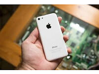 APPLE IPHONE 5C WHITE ON O2
