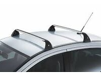 Peugeot 207 hatch genuine factory roof bars with keys