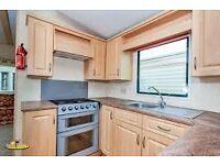 Luxury 8 berth 3 bedroom Caravan for Rent Sand Le Mere, Tunstall, East Yorks Glazed & Heated
