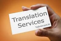 FRENCH TO ENGLISH TRANSLATION SERVICES!