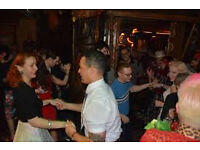 Hula Boogie vintage dance clubs 14th Anniversary party1950's glamour, djs & live music
