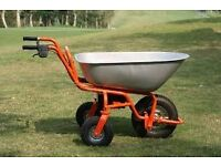 SHERPA power wheelbarrow, brand new, unused, & 2yrwarranty
