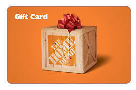 WANTED: Will buy $1000 HOME DEPOT GIft Cards 30% off Face value