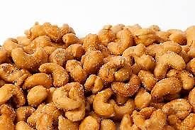 Honey Roasted Cashew Nuts. £5 per kg