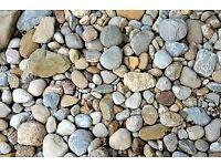 Decorative Garden Stones, Chips & Gravel – various