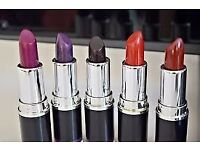 selection of 10 lipsticks tested the colour once