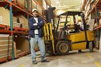 Forklift JOBS Toronto - Earn from $14-$18/hr + Training