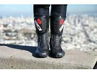 Sidi waterproof motorcycle boots 9