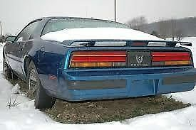 Rear Spoiler off of 87 Pontiac Trans Am HARD TO FIND $75.00