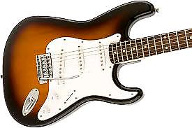 Strat type guitar