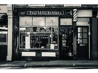 Pall Mall Barbers Looking for Barber/Hairdresser Training & Development manager