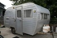**WANTED** 1970's or earlier small camper