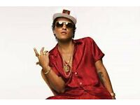 Bruno Mars tickets x 2 £200