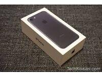 I PHONE 7-BRAND NEW-UNLOCKED-2 YEARS WARRANTY -ALL BLACK 32G