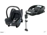Maxi Cosi car seat and ISO base