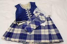 wanted highland dance outfit size 10-12 girls