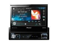 PIONEER AVH-X7500BT HIGH END FLIPOUT SCREEN BLUETOOTH/AUX/USB/RADIO AND MUCH MORE.