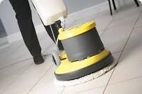 Floor stripping/waxing and burnishing  LOW COST!!!