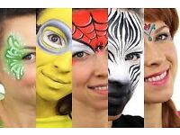Face painter / make-up artist for face painting / make-up