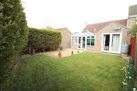 3 Bedroom bungalow with conservatory to rent, available immediately.