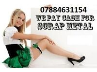 Scrap metal/Rubbish Collection all London areas PAY CASH£££