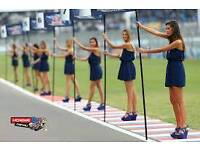 Autosport International promo girl/brand ambassador available for work