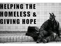 A job helping the homeless