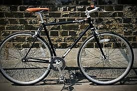 Great Looking Black PYTHON Single Speed Bike.