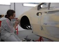 Panel beater - car body repairer. Company pension and other benefits. Excellent rates of pay.