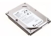 500gb sata and 80gb harddrive sata for pc all works ect need gone asap