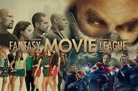 Fantasy Movie League group: FML - CANADA
