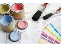 Professional painting and decorating services