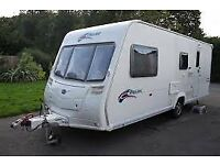 4 Berth Bailey Pageant Series 6 Champagne 2007 motor mover, alarm - everything to get started!