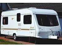 Elddis Avante 534 4 berth 2002 with fixed bed and all ready to use