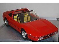 Barbie red Ferrari car