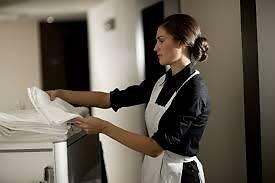 Motel cleaning staff