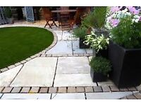 Manchester garden services paving decking driveways turfing fencing grass cut walls FREE QOUTES