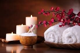 Deep relaxation massage and pampering, in a lovely company.