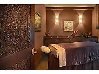Ebony massage therapist